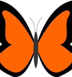 bug clipart orange butterfly pencil and in color bug clipart [ 1969 x 1750 Pixel ]