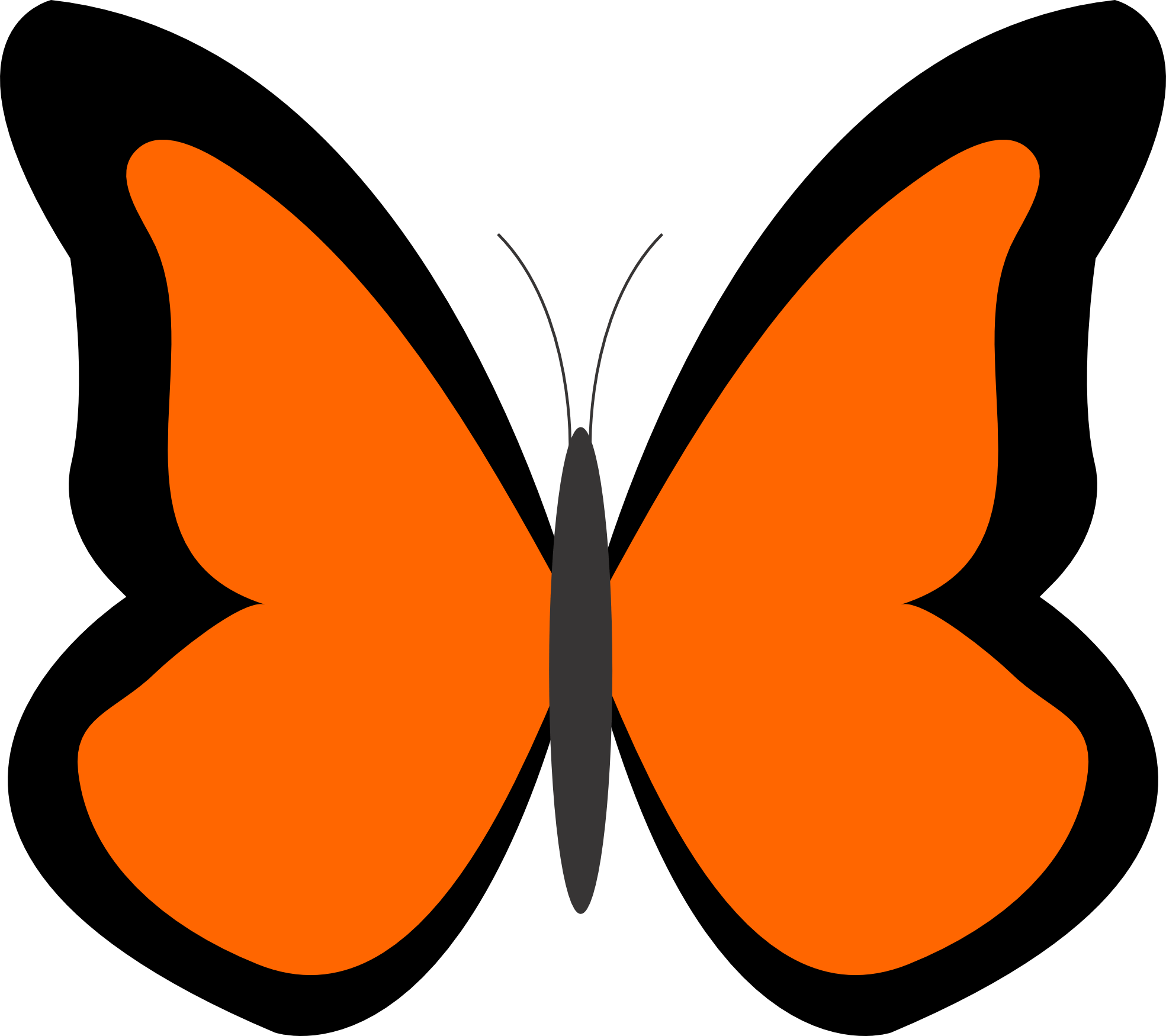 hight resolution of bug clipart orange butterfly pencil and in color bug clipart