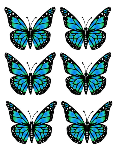 butterfly clip art free
