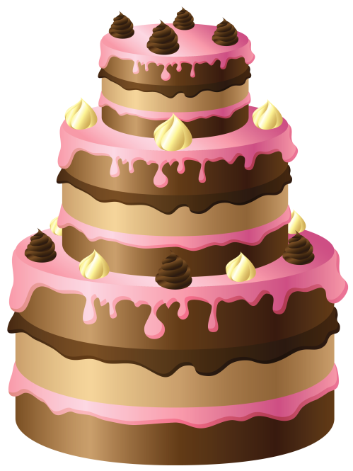small resolution of birthday cake clip art free birthday cake clipart 2