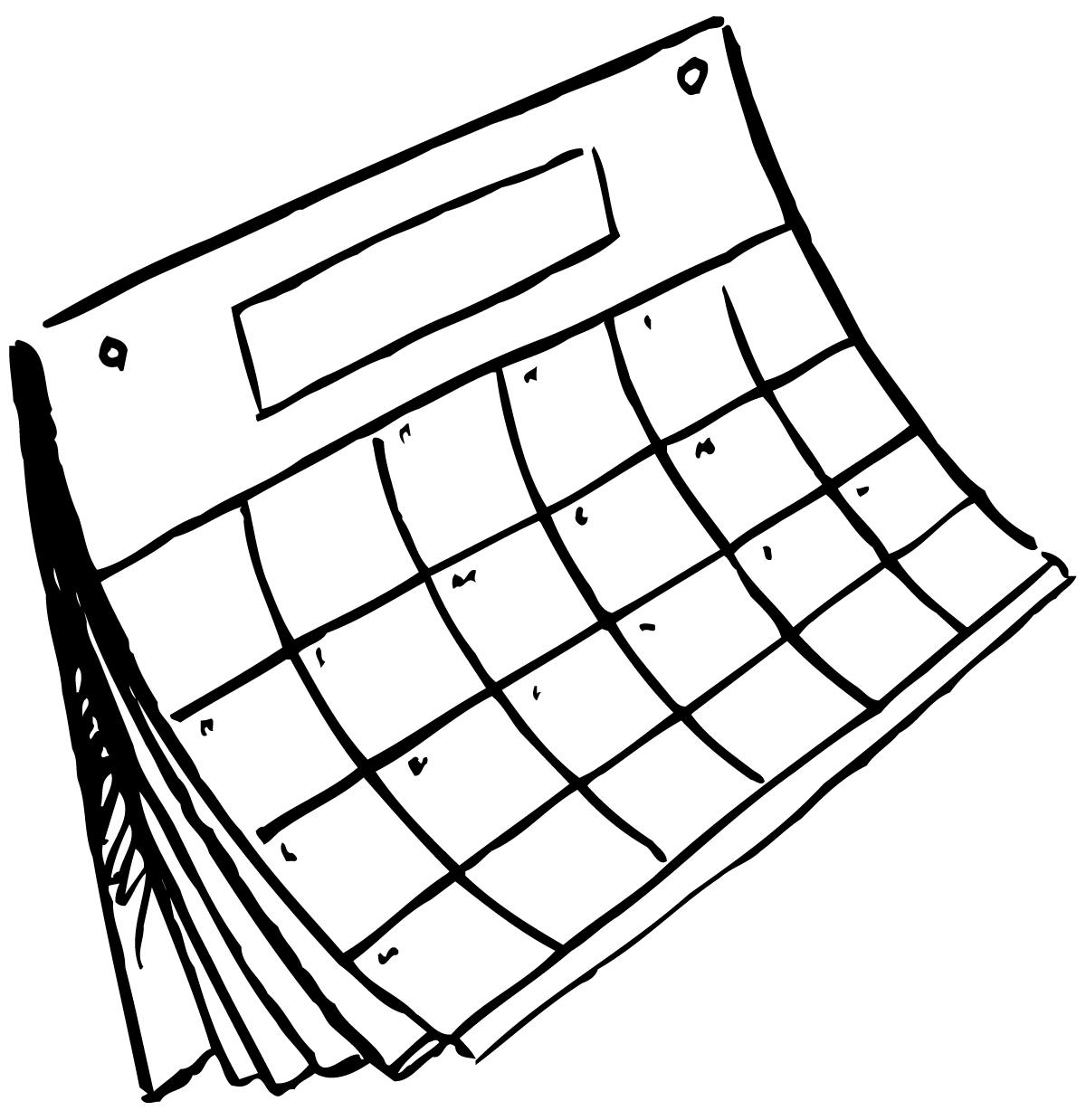 Calendar Clip Art 40 65 Calendar Clipart Clipart Fans