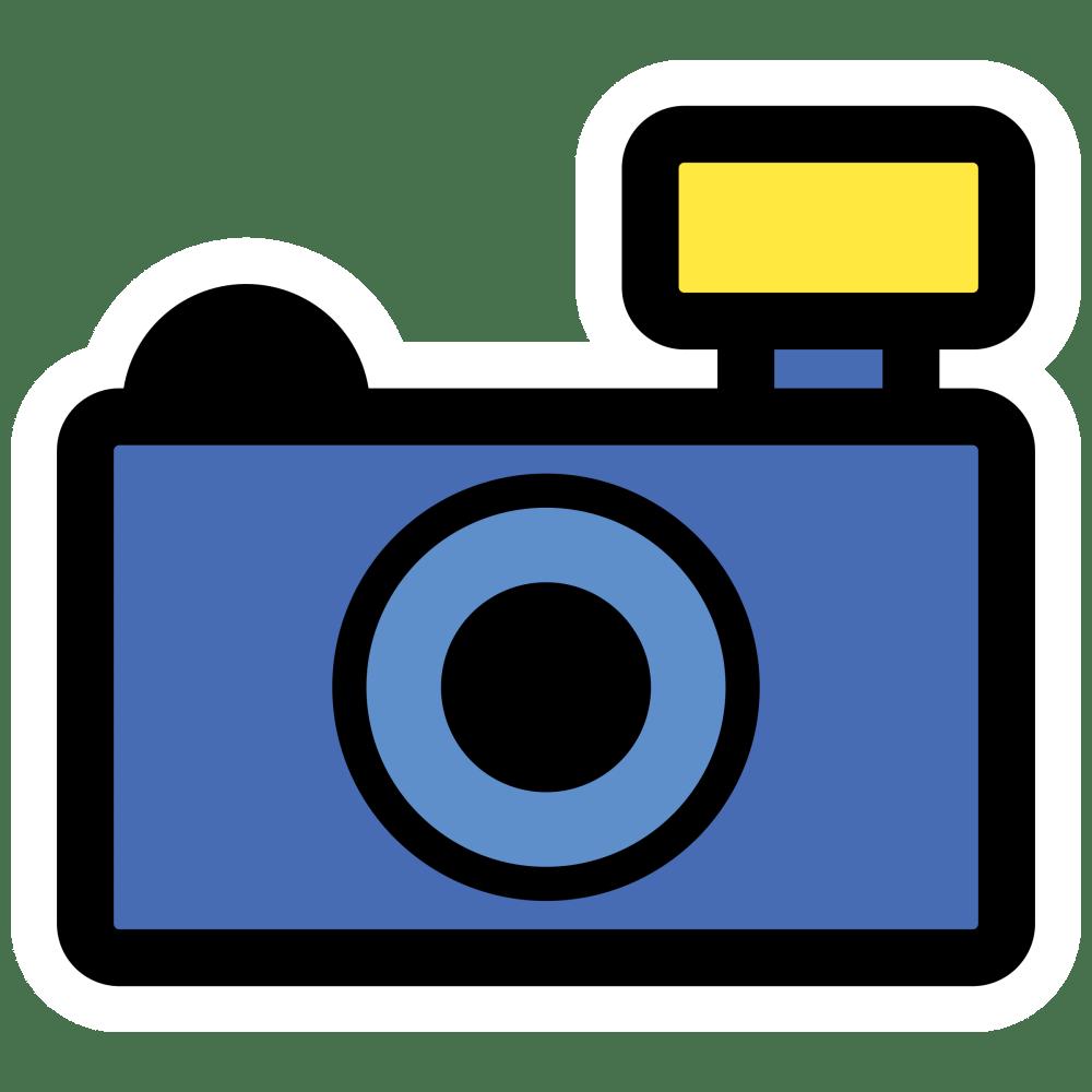 medium resolution of blue camera clipart 32