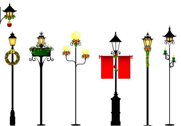 Christmas Light Clip Art.20 Holiday Light Pole Clip Art Ideas And Designs