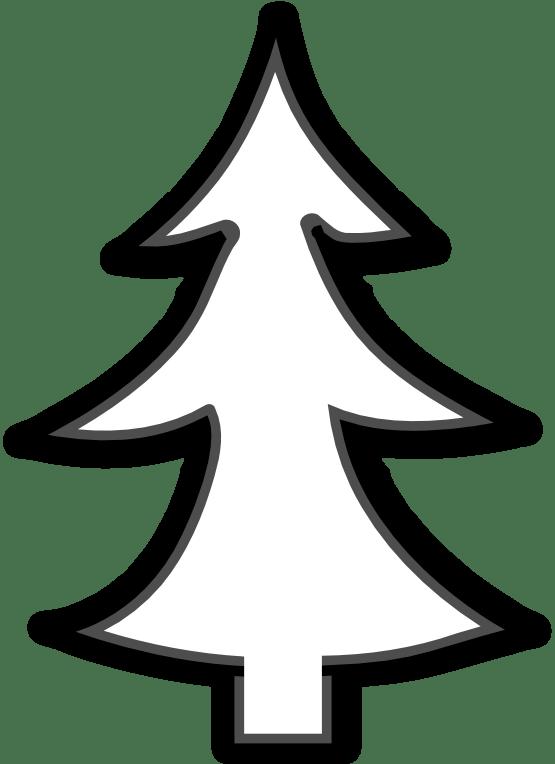 free christmas tree clip