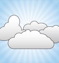 cloud clipart cliparts clip art of clouds clipart 3446 clipartwork [ 1600 x 1200 Pixel ]