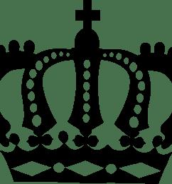 clipart royal crown silhouette clipartix clipartix [ 2232 x 1808 Pixel ]