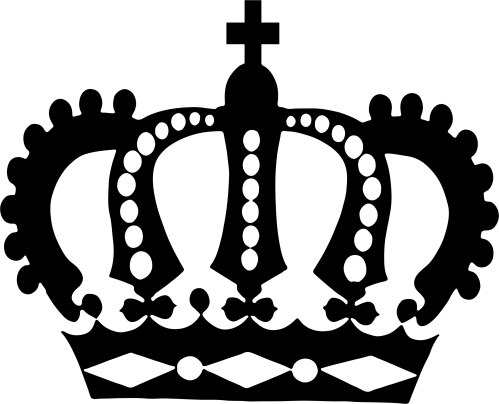 small resolution of clipart royal crown silhouette clipartix clipartix