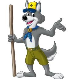 clip art for cub scout leaders [ 1219 x 1599 Pixel ]
