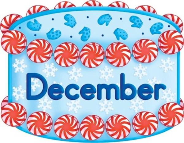 cake clipart december - clip art