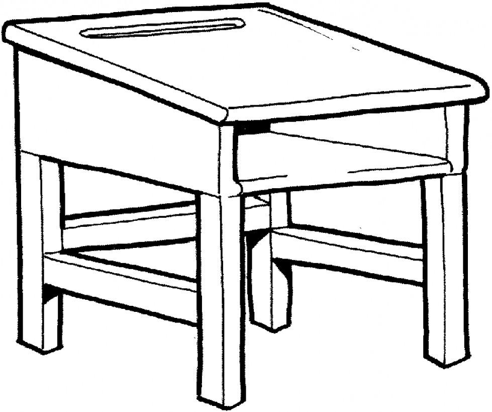 Desk clipart draw  Clip Art Library