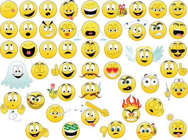 free free emoji clipart