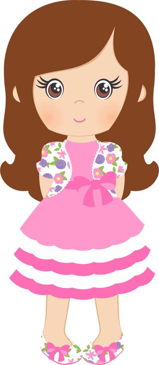free girl clipart