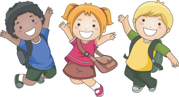 Child Clipart Happy Kid