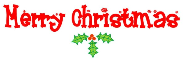merry christmas clip art free