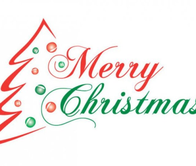 Merry Christmas Banner Clip Art  Free Clip Art Images