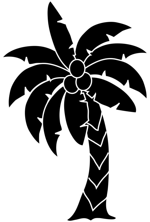 small resolution of tropical palm trees clipart free clip art images image 7