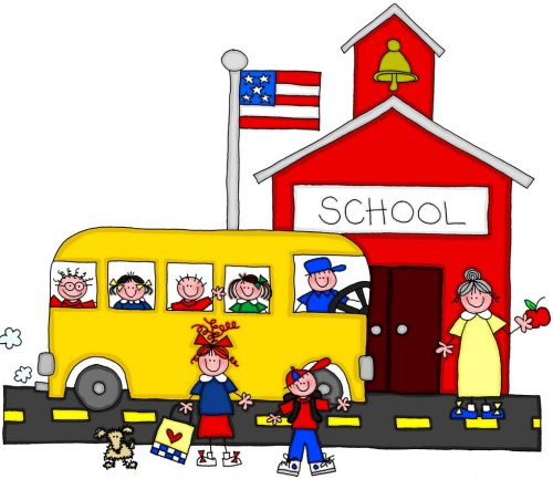 small resolution of arrive at school clipart clipartxtras img