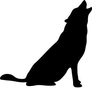 animal silhouettes simple clipart clip library