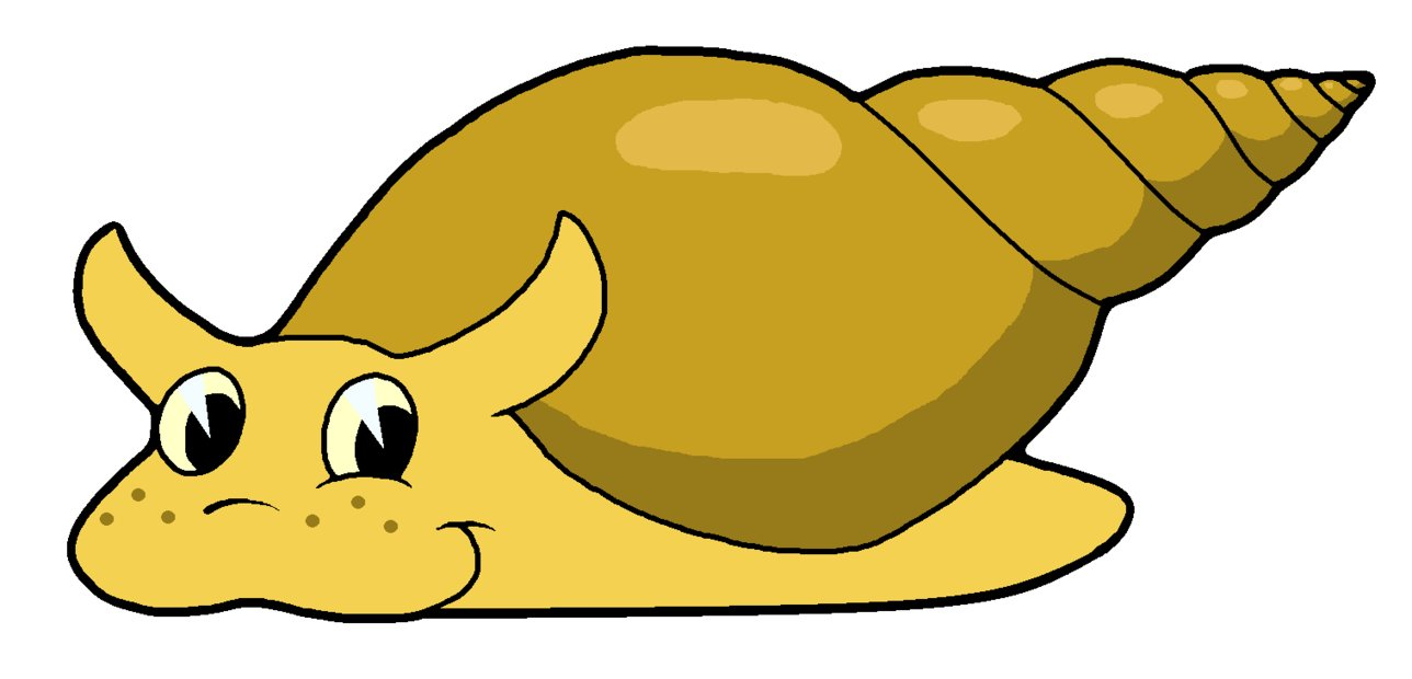 hight resolution of pond snail clipart