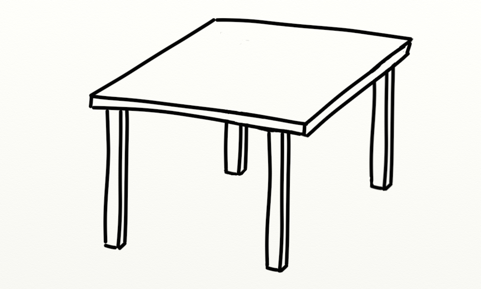 hight resolution of table clipart black and white