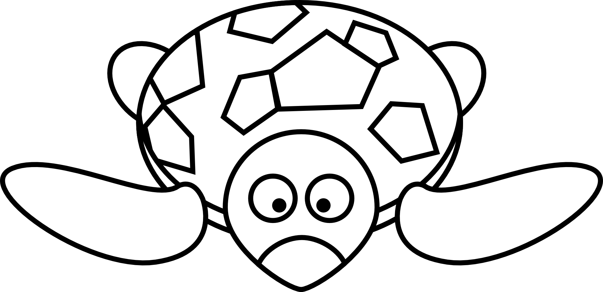 Free Turtle Clipart Black And White Download Free Clip