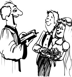 wedding clipart black and white free images 4 clipartandscrap [ 2000 x 1924 Pixel ]