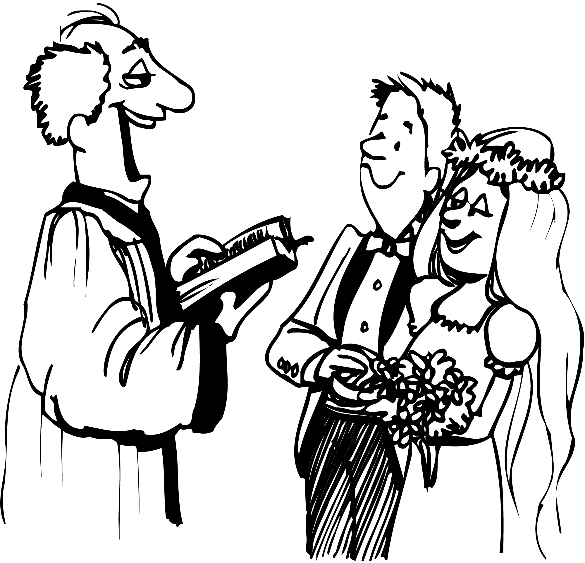 hight resolution of wedding clipart black and white free images 4 clipartandscrap