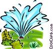 vector clipart graphics of garden