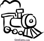 trains Vector Clip art