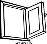 Open window Vector Clip art