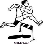 Hurdles Vector Clip art