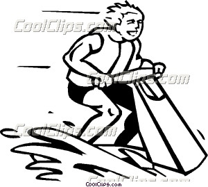 Personal watercraft Clip Art