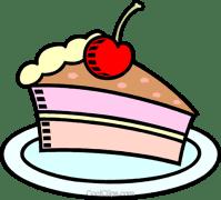 Kuchen Vektor Clipart Bild