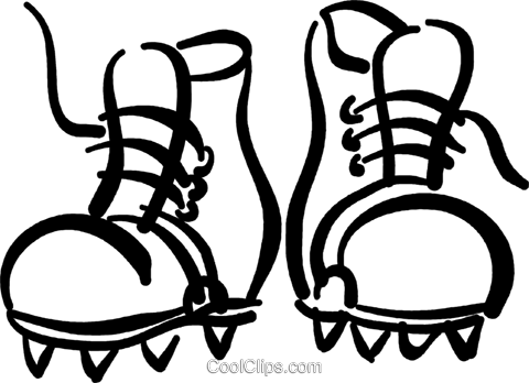 clipart free hiking boot