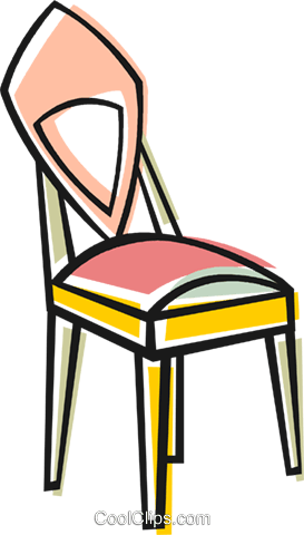 chairs for kitchen trash can 厨房的椅子免版税矢量剪贴画插图 vc048445 coolclips com