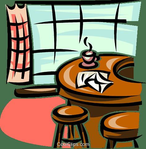 kitchen counter stools cabinet designs in india 厨房柜台机智凳子免版税矢量剪贴画插图 vc063146 coolclips com