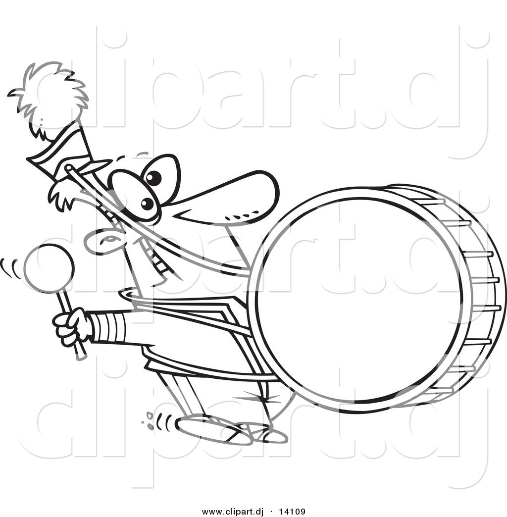 Cartoon Marching Band
