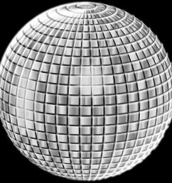 glimmering disco ball enhanced 3 [ 2400 x 2400 Pixel ]