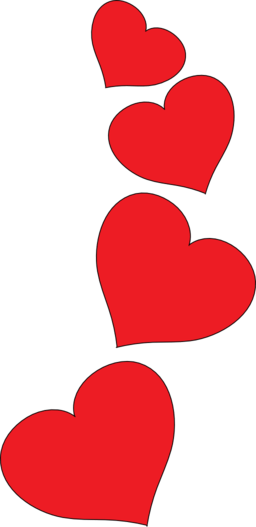 hearts clip art red heart free
