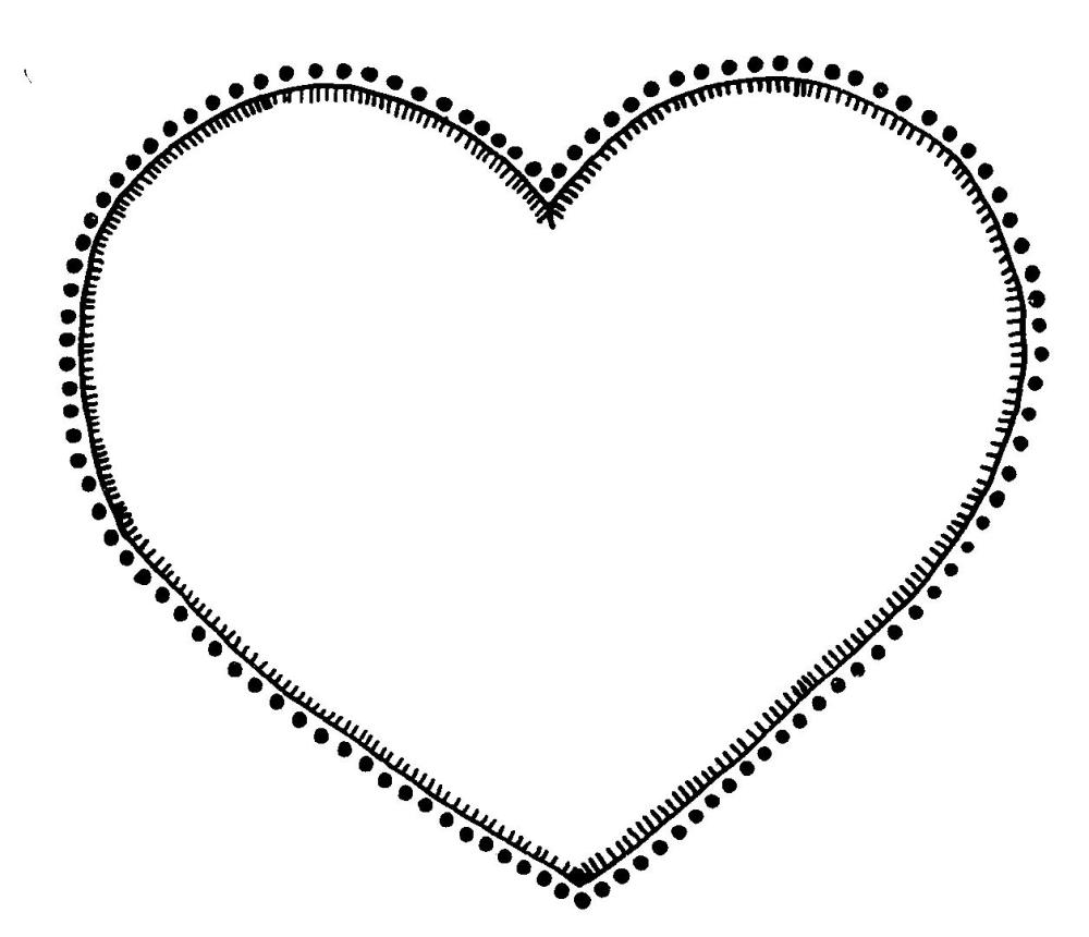 medium resolution of heart clipart black and white free