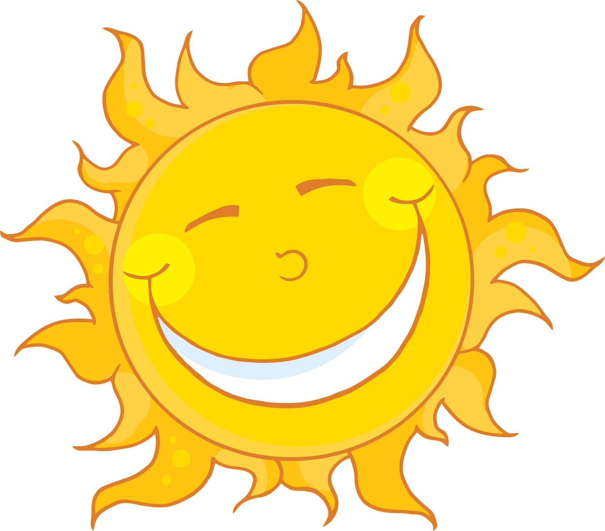 hight resolution of sun clipart