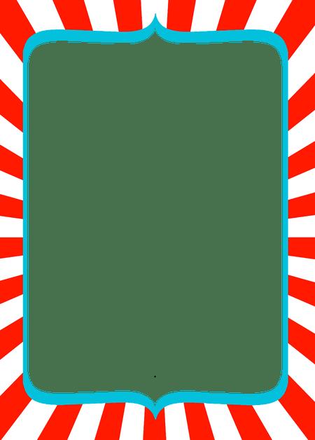Christmas Stationary Borders