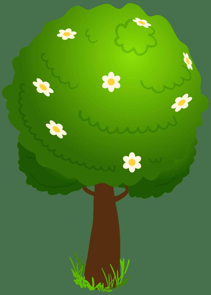 Cartoon Deco Tree PNG Clipart Kid