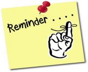 reminder clipart free