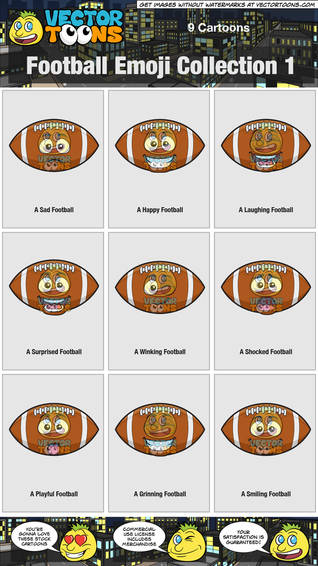 hight resolution of nfl clipart
