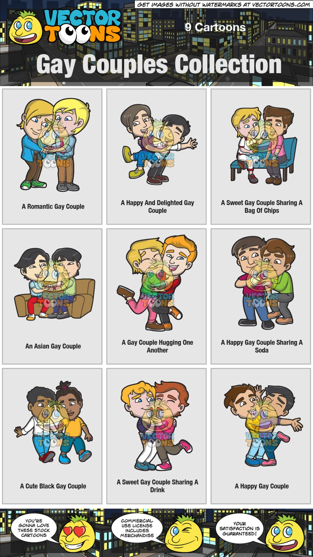 medium resolution of gay couples collection