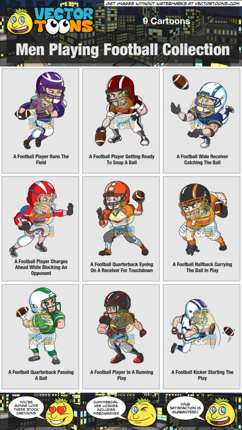 small resolution of clipart football player