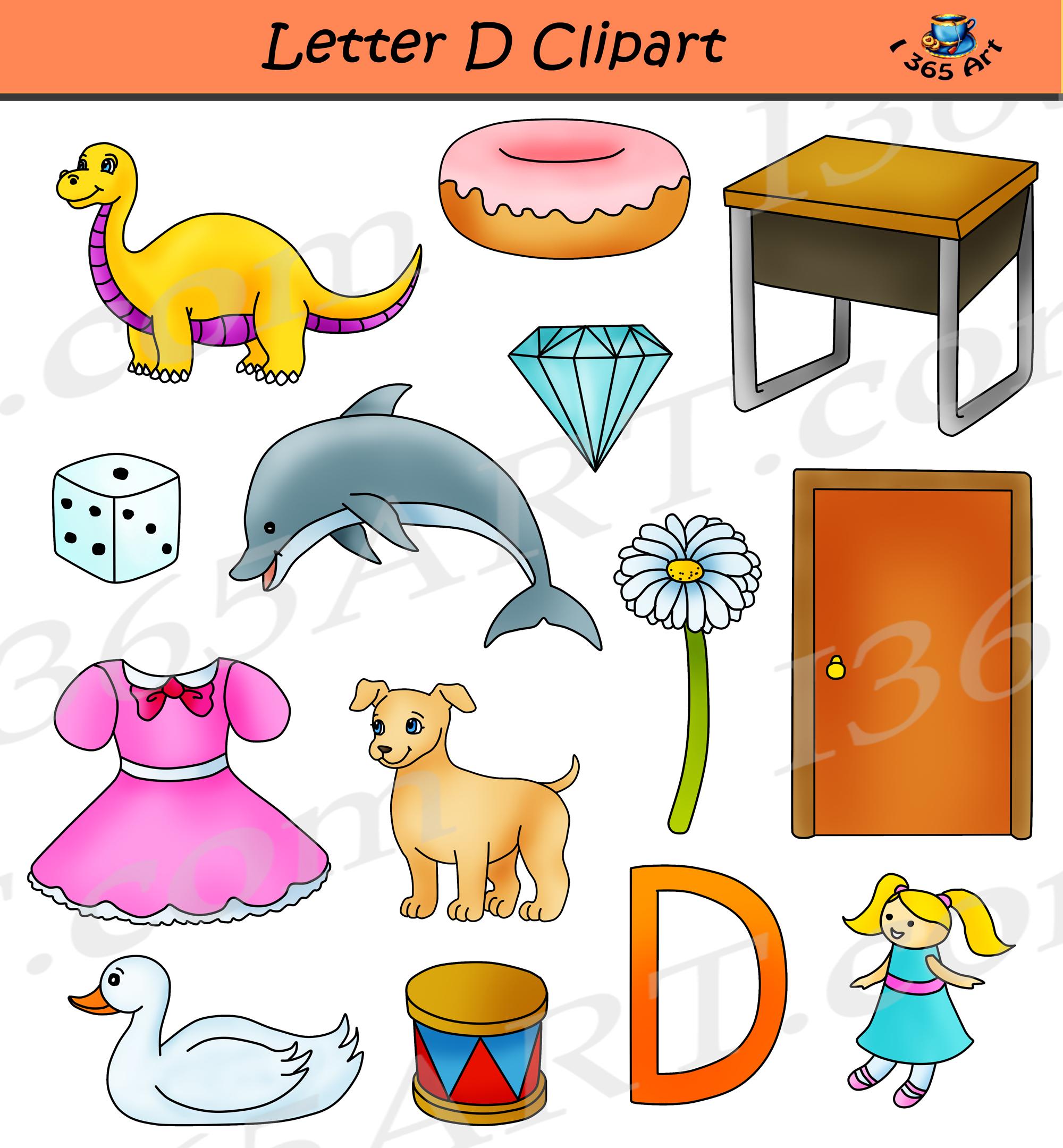 Alphabets Clipart Pack