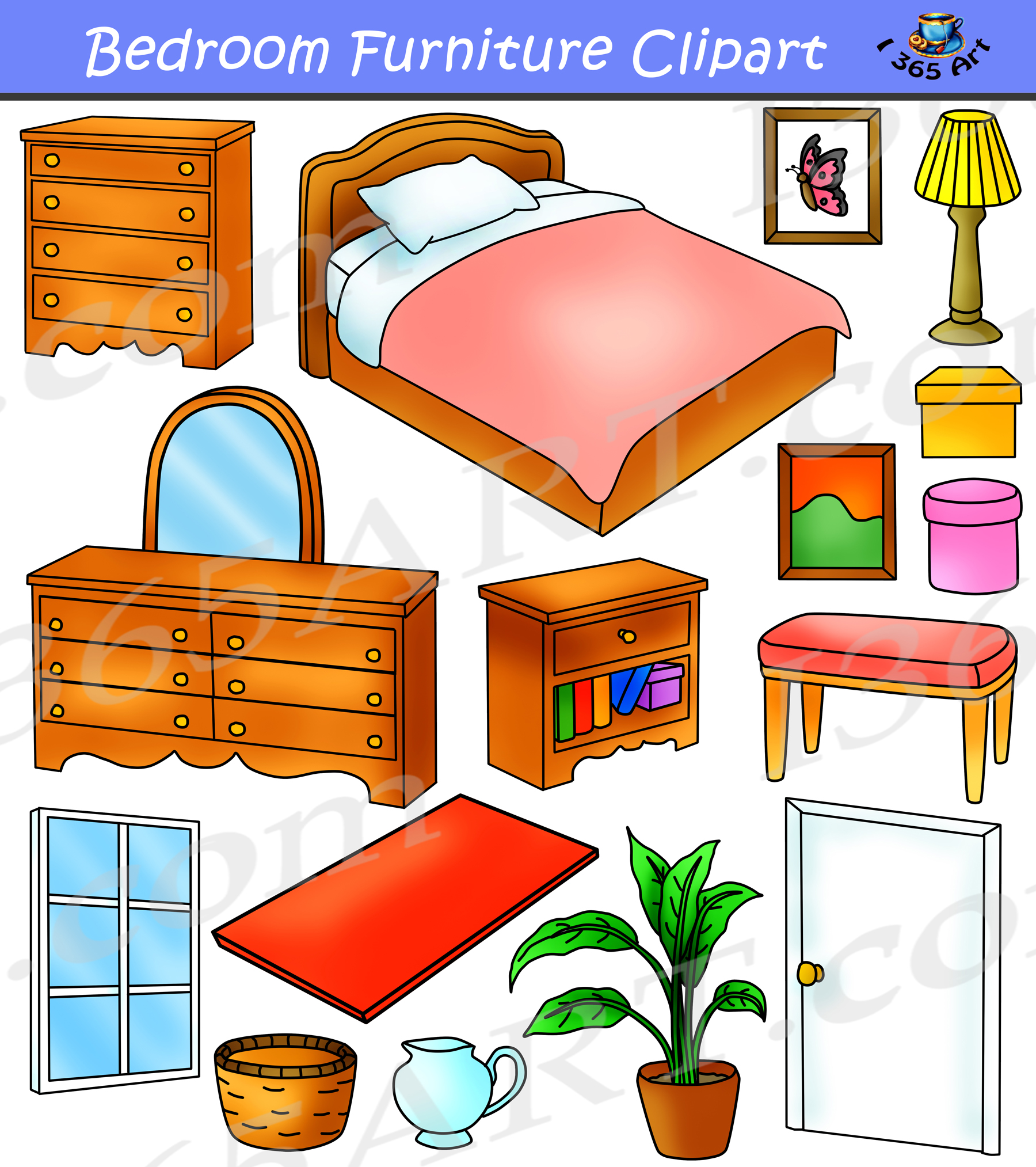hight resolution of bedroom clipart home furniture graphics commercial