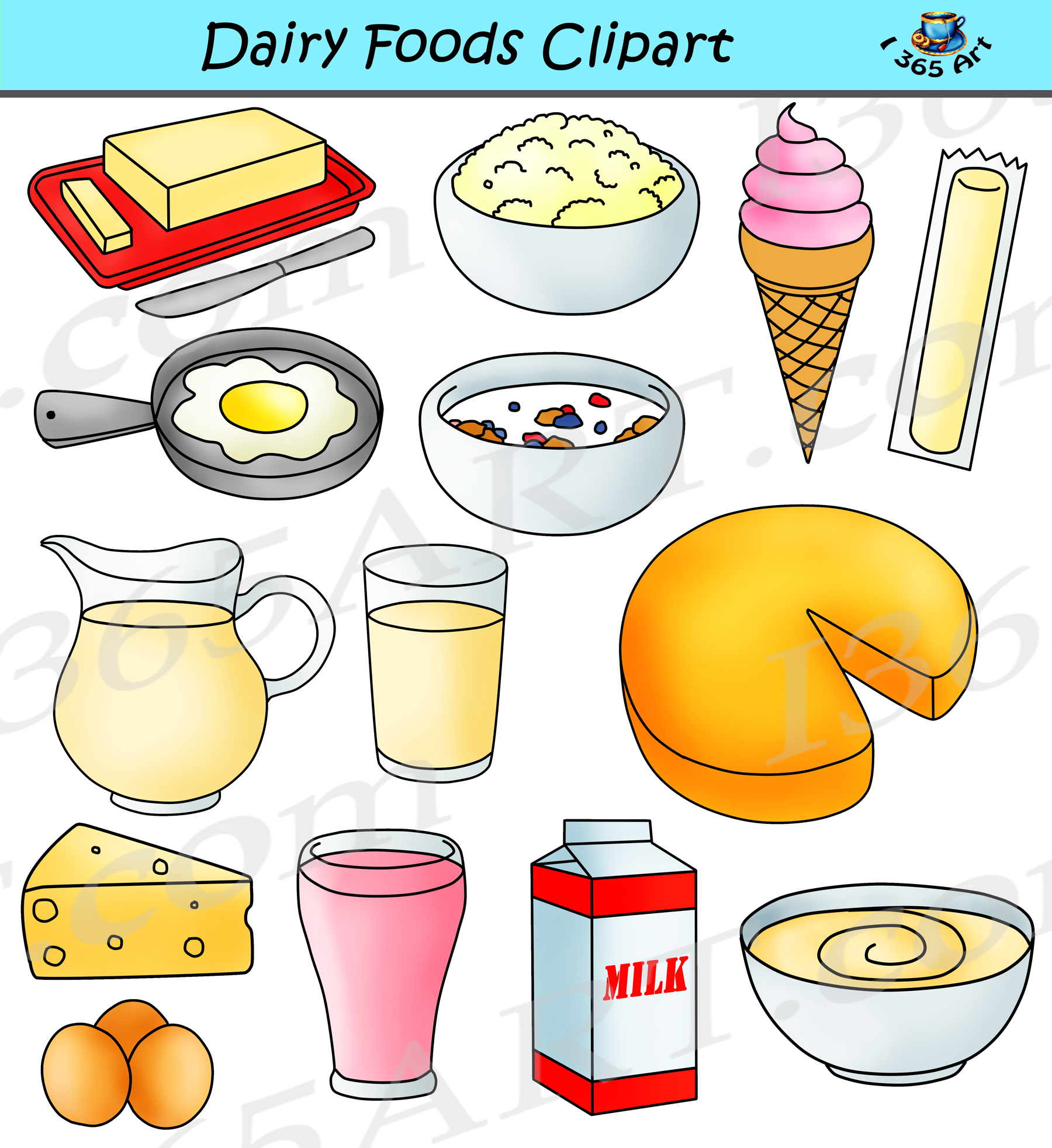 hight resolution of dairy clipart